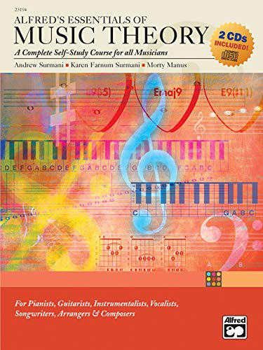 9780739036358: Alfred'S Essentials of Music Theory Book/2 Cds +CD: A Complete Self-study Course for All Musicians (With CD)