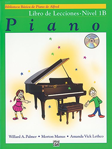 9780739036396: Alfred's Basic Piano Course Lesson Book, Bk 1b: Spanish Language Edition, Book & CD (Alfred's Basic Piano Library)