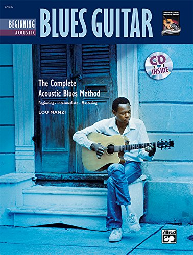 9780739036730: Complete Acoustic Blues Method: Beginning Acoustic Blues Guitar