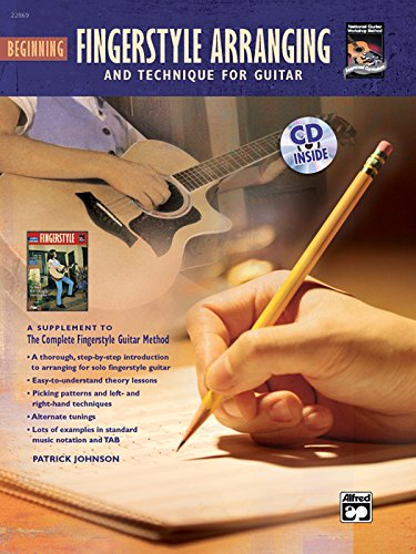 9780739036747: Beginning Fingerstyle Arranging & Technique for Guitar (Book & CD)