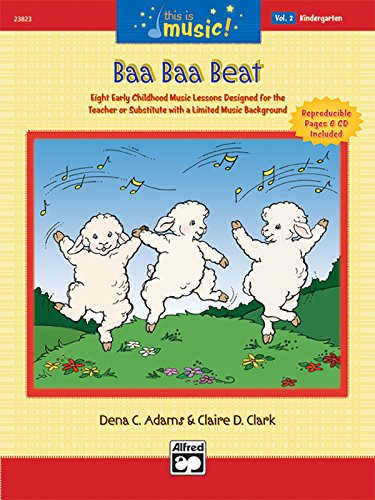 9780739036938: This Is Music!, Vol 2: Baa Baa Beat, Comb Bound Book & CD
