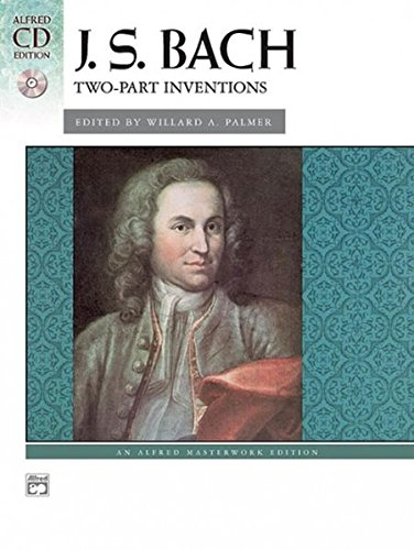 9780739036976: Bach - Two-Part Inventions (Book & CD) (Alfred Masterwork Edition: CD Edition)