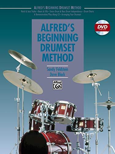 9780739037119: Alfred's Beginning Drumset Method (Book & DVD)