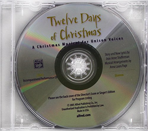 Twelve Days of Christmas: A Christmas Musical for Unison Voices (Acc./Performance)