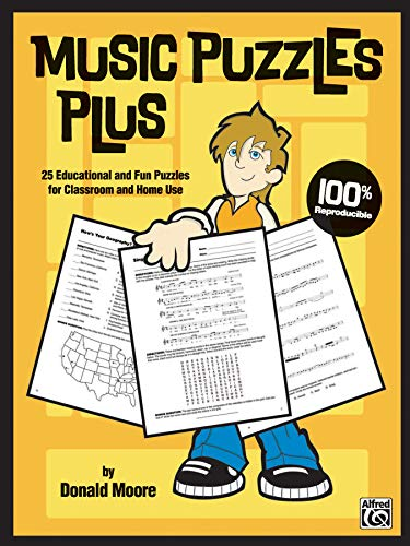 9780739037294: Music Puzzles Plus: 25 Educational and Fun Puzzles for Classroom and Home Use