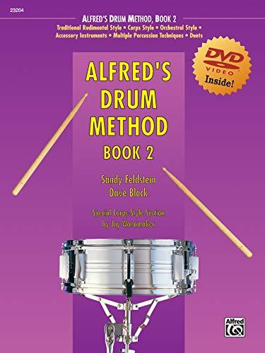 9780739037478: Alfred's Drum Method, Bk 2: Book & DVD (Sleeve)