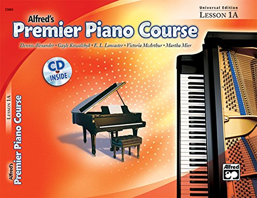 9780739037560: Premier Piano Course Lesson Book, Bk 1A: Universal Edition, Book & CD