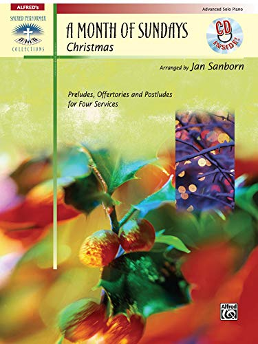 9780739037669: A Month of Sundays: Christmas, Book & CD (Sacred Performer Collections)