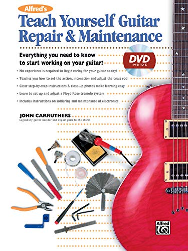 9780739037676: Alfred's Teach Yourself Guitar Repair & Maintenance