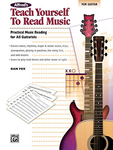 9780739037799: Alfred's Teach Yourself to Read Music for Guitar: Practical Music Reading for All Guitarists
