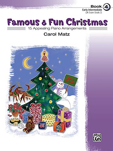 9780739037805: Famous & Fun Christmas, Book 4 (Early Intermediate): 15 Appealing Piano Arrangements