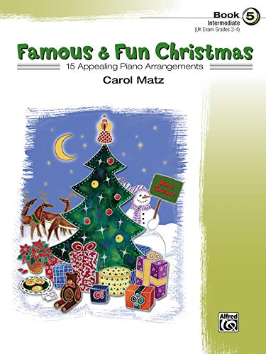 9780739037812: Famous & Fun Christmas, Book 5 (Intermediate): 16 Appealing Piano Arrangements