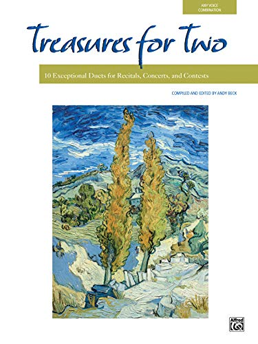 9780739038000: Treasures for Two: 10 Exceptional Duets for Recitals, Concerts, and Contests (For Two Series)