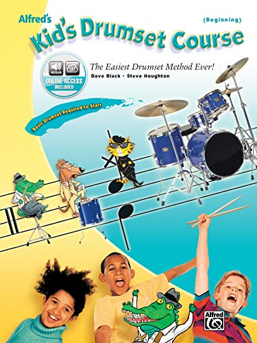 9780739038253: Alfred's Kid's Drumset Course: The Easiest Drumset Method Ever!, Book & CD