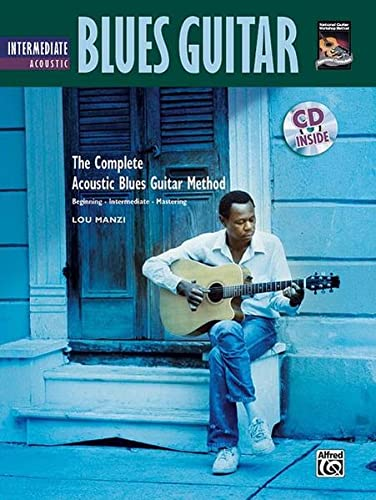 9780739038284: Complete Acoustic Blues Method: Intermediate Acoustic Blues Guitar, Book & CD (Complete Method)