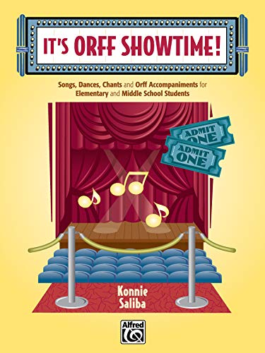 9780739038321: It's Orff Showtime!: Songs, Dances, Chants, and Orff Accompaniments for Elementary and Middle School Students