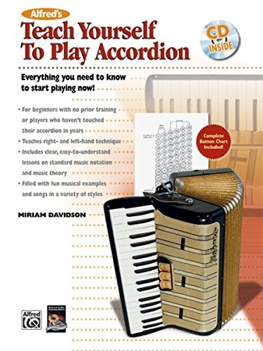9780739038345: TEACH YOURSELF TO PLAY ACCORDION BOOK/C