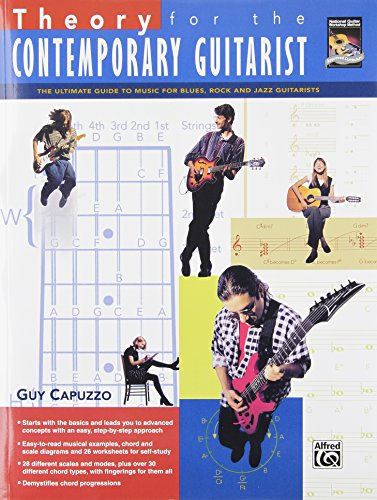 9780739038383: Theory for the Contemporary Guitarist: The Ultimate Guide to Music for Blues, Rock, and Jazz Guitarists (Book & DVD)