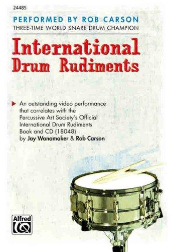 9780739038826: International Drum Rudiments: DVD