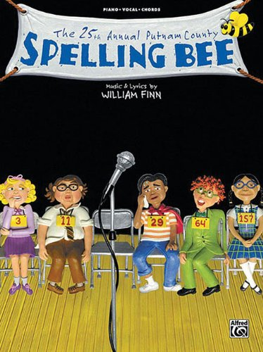 9780739038888: The 25th Annual Putnam Countyspelling Bee Piano/Vocal/Chords