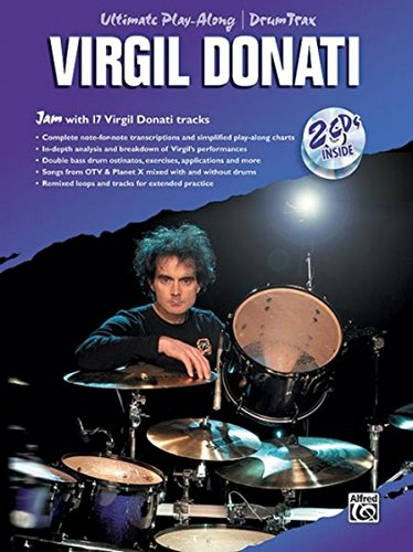 9780739038956: Ultimate Play-Along Drum Trax Virgil Donati: Jam with 17 Virgil Donati Tracks, Book & 2 CDs
