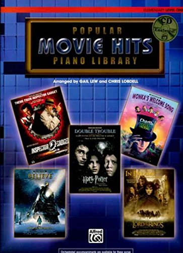 9780739039052: Popular Piano Library Movie Hits: Level 1