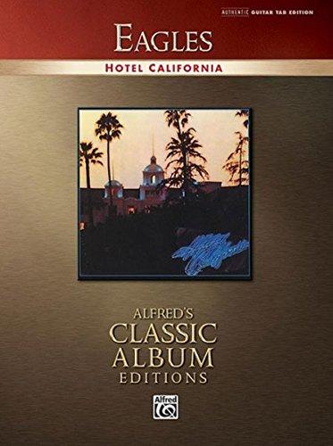 9780739039199: Hotel California: Authentic Guitar-tab