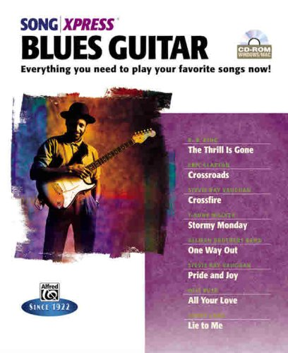 9780739039212: Songxpress -- Blues Guitar: Everything You Need to Play Your Favorite Songs Now!, CD-ROM