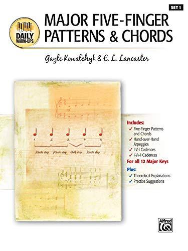 9780739039236: Major Five-Finger Patterns & Chords