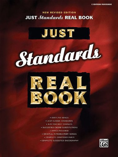 9780739039441: Just Standards Real Book: C Edition (Just Real Books Series)