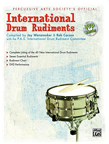9780739039519: International Drum Rudiments: Book & DVD