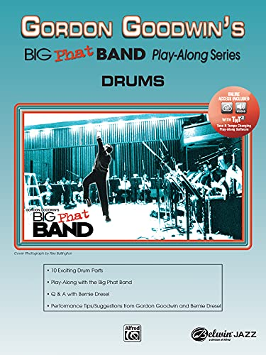 9780739039694: Gordon Goodwin's Big Phat Band Play-Along: Drums