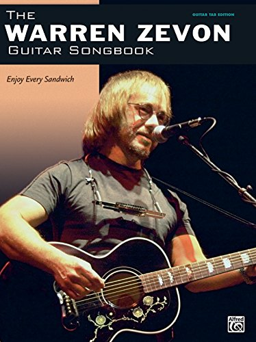 The Warren Zevon Guitar Songbook (Guitar Songbook Edition) (Guitar Songbooks): Warren Zevon