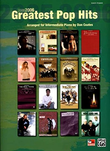 9780739039922: 2005-2006 Greatest Pop Hits