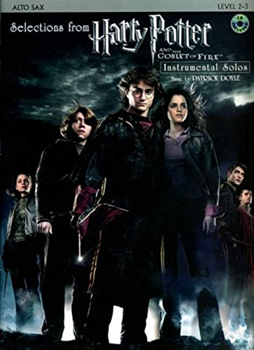 9780739040096: Selections from Harry Potter and the Goblet of Fire (Alto Saxophone) +CD