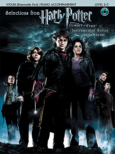 9780739040157: Harry Potter and the Goblet of Fire: Selections Book & CD (Violin & Piano Acc. Edition)