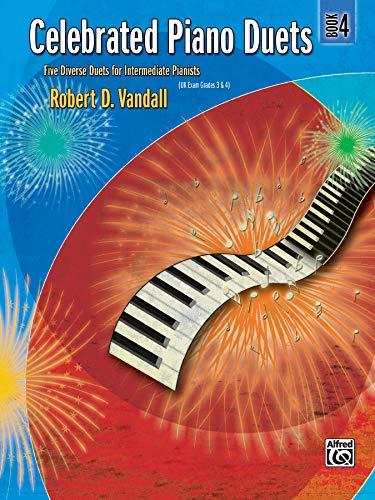 9780739040591: Celebrated Piano Duets, Bk 4