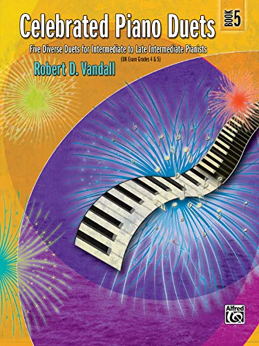 9780739040607: Celebrated Piano Duets, Bk 5