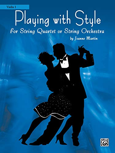 9780739040942: Playing with Style for String Quartet or String Orchestra: 1st Violin Part