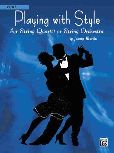 9780739040959: Playing with Style for String Quartet or String Orchestra: 2nd Violin Part