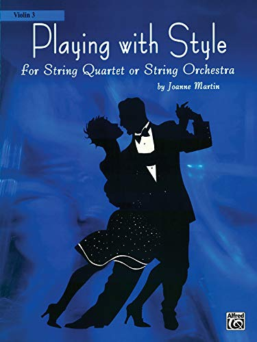 9780739040966: Playing with Style for String Quartet or String Orchestra: 3rd Violin Part