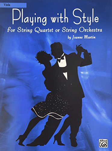9780739040973: Playing with Style for String Quartet or String Orchestra: Viola