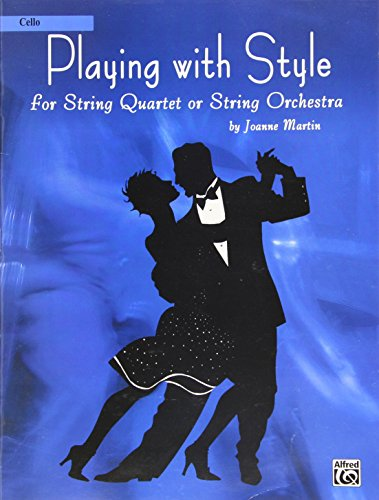 9780739040980: Playing with Style for String Quartet or String Orchestra: Cello