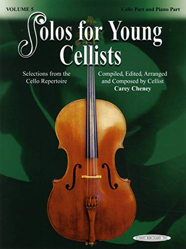 9780739041376: Solos for Young Cellists Cello Part and Piano Acc., Vol 5: Selections from the Cello Repertoire