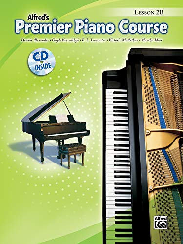 9780739041390: Premier Piano Course Lesson Book, Bk 2b: Book & CD [With CD]
