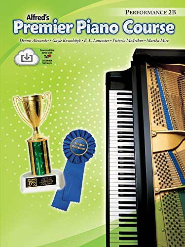 9780739041406: Alfred's Premier Piano Course (Performance 2B) Book & CD
