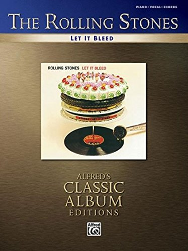 9780739041482: Rolling Stones -- Let It Bleed: Piano/Vocal/Chords (Alfred's Classic Album Editions)