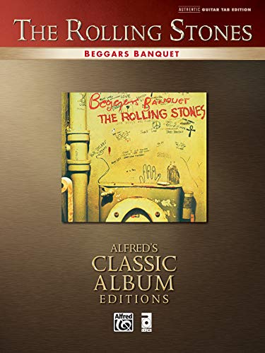 9780739041611: Rolling Stones -- Beggars Banquet: Authentic Guitar TAB (Alfred's Classic Album Editions)