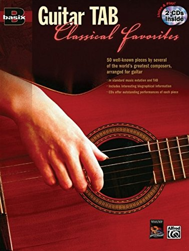 9780739041727: Basix Guitar Tab Classical Favorites: Book & 2 CDs