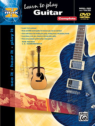 9780739042083: Alfred's MAX Guitar Complete: See It * Hear It * Play It, Book & DVD (Sleeve) (Alfred's MAX Series)